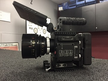 "Rent: Red Epic W package with MB, FF, and 17"" Directors Monitor"
