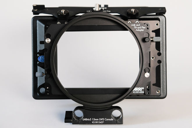 ARRI 3-Stage Mattebox with 80mm Lens Adapter