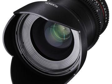 Rent: Rokinon 35mm T1.5 Cine DS EF Mount