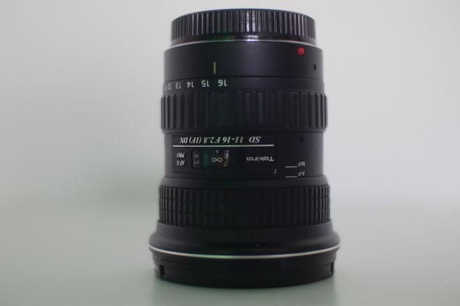 Tokina 11-16 2.8 Lens EF Mount