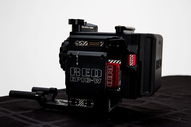 RED Epic-W Helium 8K S35 with Media Card, I/O V- Lock Module