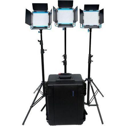 Dracast S-Series Plus Daylight LED500 3-Light Kit