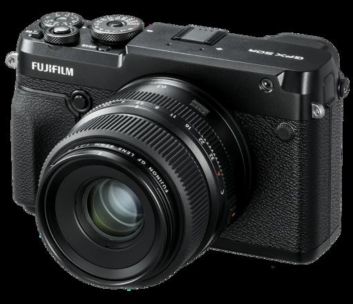 Fuji GFX 50R Mirrorless Medium Format Digital Camera w/63mm