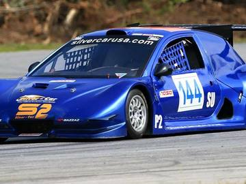 Rent: High Profile Racing Car Siver Car S2