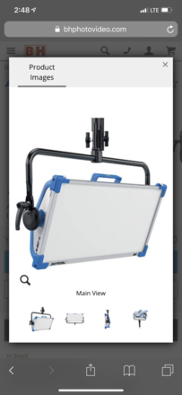 Arri skypanel package with cstands and grip accessories
