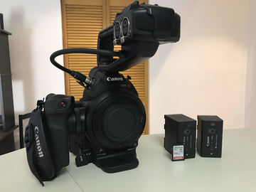 Rent: Canon C100 (Body Only)