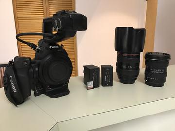 Rent: Canon C100 w/lenses