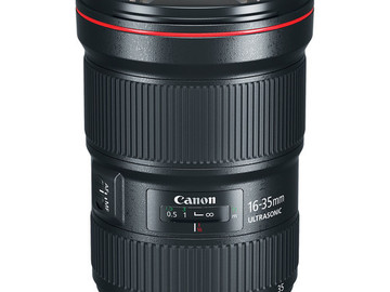 Rent: 16-35mm Canon Zoom Lenses