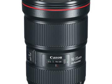 Rent: 16-35mm Canon Zoom Lenses
