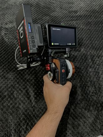 Tilta Nucleus-M, Atomos Shinobi, Cinegears Ghosteye 600M Kit