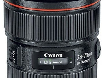 Rent: Canon EF 24-70mm f/2.8L II USM -  Newest Version of lens