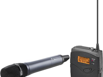 Rent: Sennheiser Wireless Handeld Mic for Interviews w/reciever