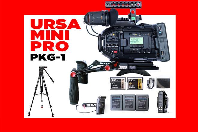 URSA Mini Pro 4.6K BASE PKG (EF/PL)