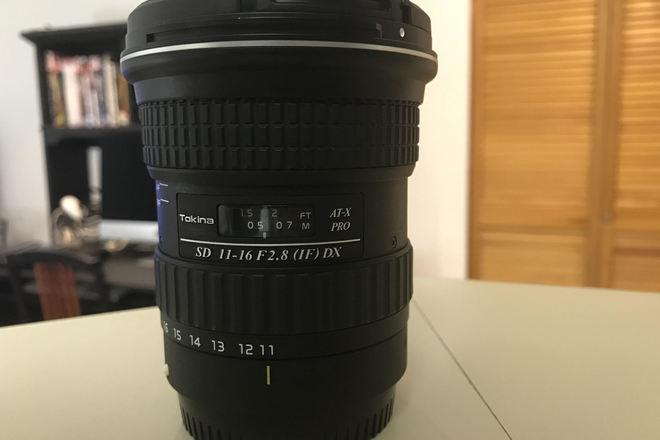 Tokina 11-16mm f2.8 (CANON MOUNT)