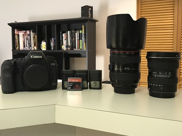 Rent: Canon 5D Mark II w/lenses