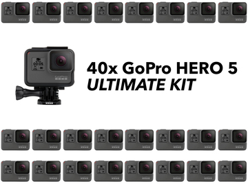 Rent: 40x GoPro HERO5 Kit