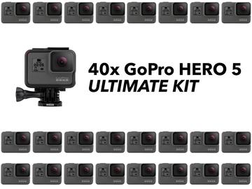 Rent: 40x GoPro HERO5 Kit