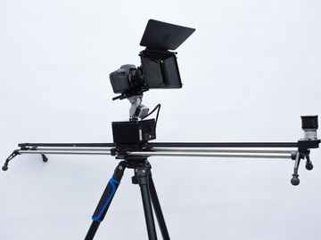 Rent: Complete Timelapse Package. Canon 6D, 3axis head with slider