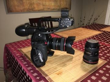 Rent: Canon C100 mkII Cinema Camera and lenses
