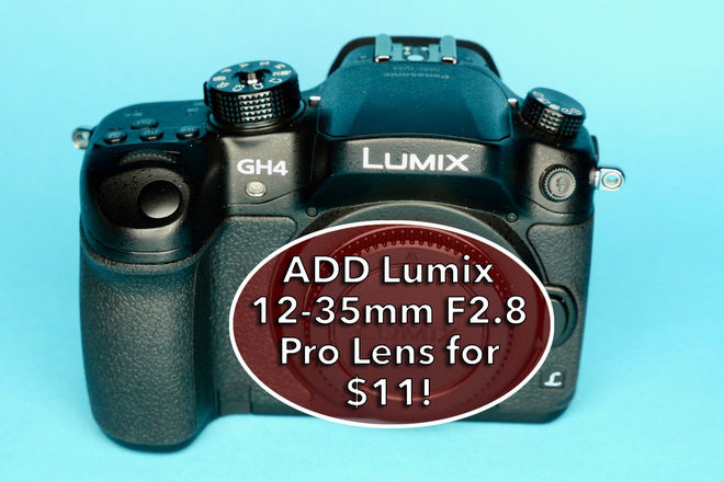 Panasonic Lumix DMC-GH4 w/ 256GB SDXC, 2 Batteries E