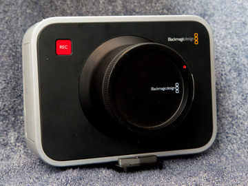 Rent: Blackmagic Cinema Camera 2.5K (EF Mount) + 2x 256GB SSD