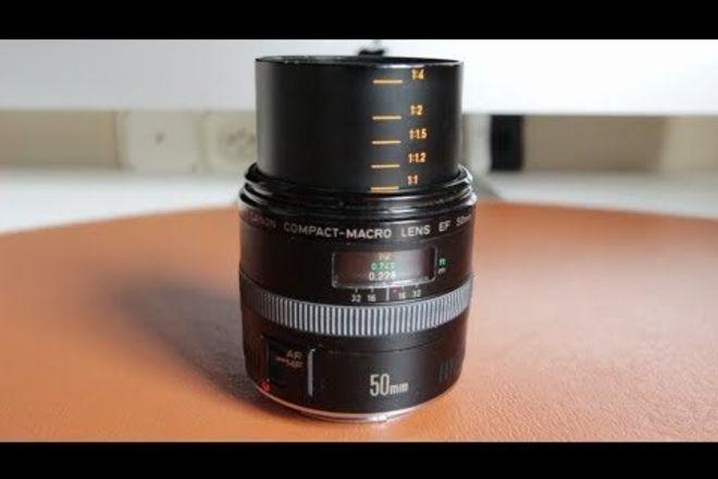 Canon 50mm f2.5 Macro + SLR Magic Anamorphot-40 1.33x