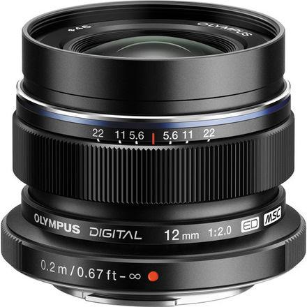 Olympus M.Zuiko Digital ED 12mm f/2 Lens