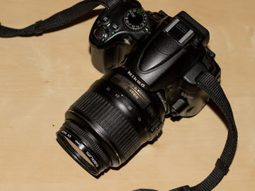 Rent: D5000 With 18-55 Lens and Tripod