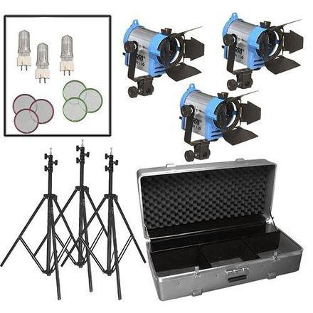 ARRI 150 Fresnel Three-Light Kit