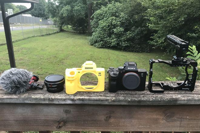 Sony a7 III Full-Frame Mirrorless Camera w/smallrig cage