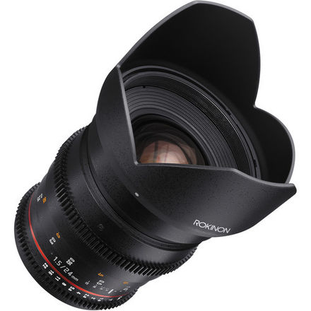 Rokinon 24 T1.5 Cine DS Lens for Canon EF Mount