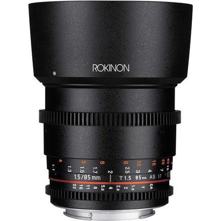 Rokinon 85 T1.5 Cine DS Lens for Canon EF Mount