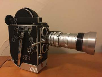 Rent: Bolex H 16 With Angenieux 17-68mm Zoom