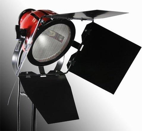 800 Watt Halogen Video Photo  With Barndoor