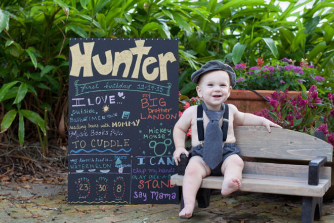 Child sized Wooden Park Bench Photography Prop