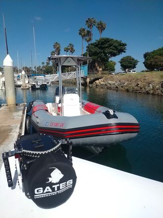 Production Boat - Zodiac Pro 21'
