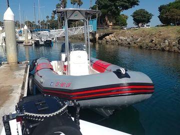 Rent: Production Boat - Zodiac Pro 21'