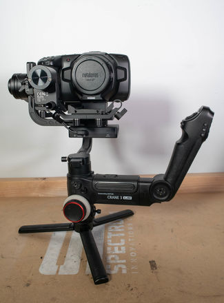BMPCC Gymbal Package w/ speed booster