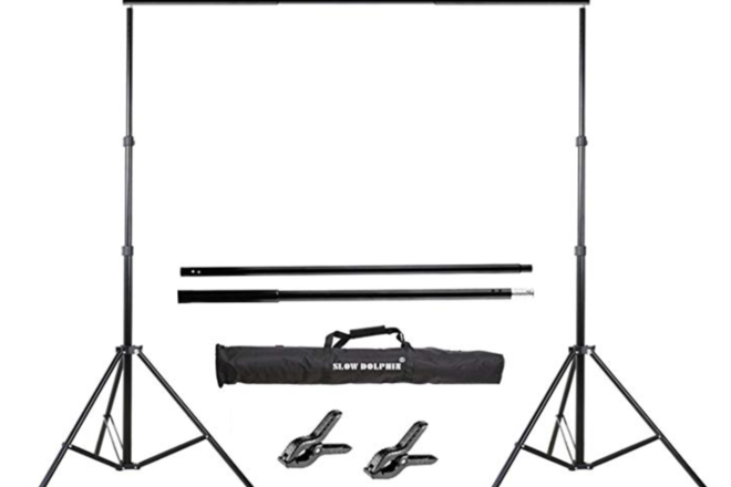 Backdrop Stand Lightweight 10ft wide 7ft tall.