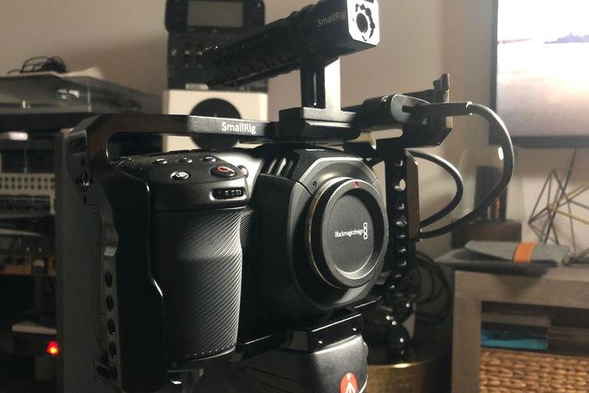 Blackmagic Design Pocket Cinema Camera 4K + Cage + 1tb SSD