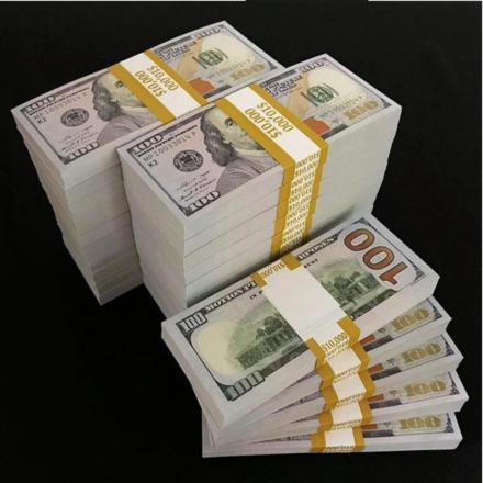 Prop Money Rentals ($120,000 Blank Stacks)