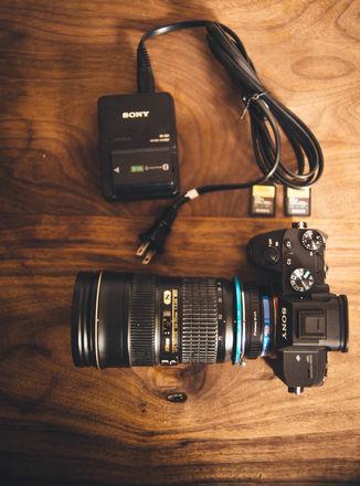Sony Alpha a7 III Mirrorless Digital Camera with Nikon 24-70