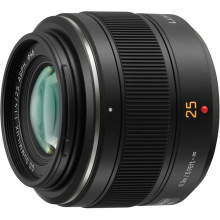 Panasonic Leica DG Summilux 25mm f/1.4 ASPH Lens M43 MFT