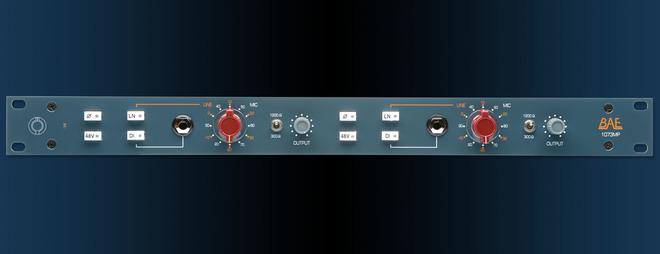 Bret Averill BAE 1073MP Dual-Channel Mic Preamp