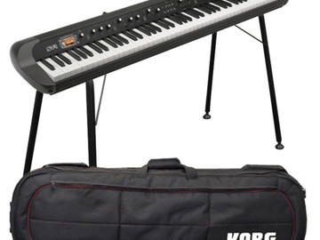 Rent: Korg SV-1 73 Key Stage Piano with Case and Stand