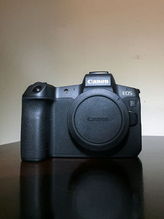 Canon EOS R Mirrorless Camera Body w/ EF Mount + 3 batteries