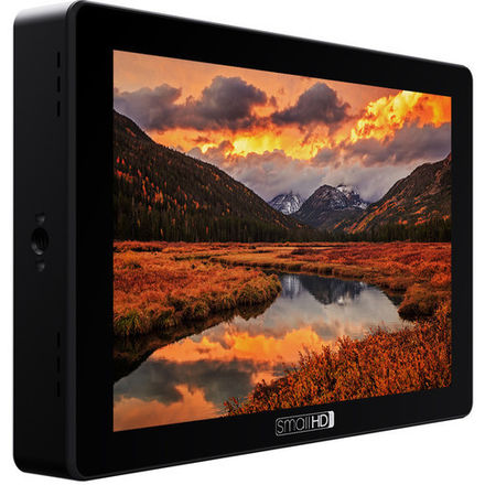"SmallHD 7"" Cine 7 Touchscreen On-Camera Monitor (Gold Mount)"