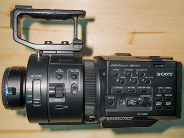 Rent: FS700 with EF to E-Mount Adapter