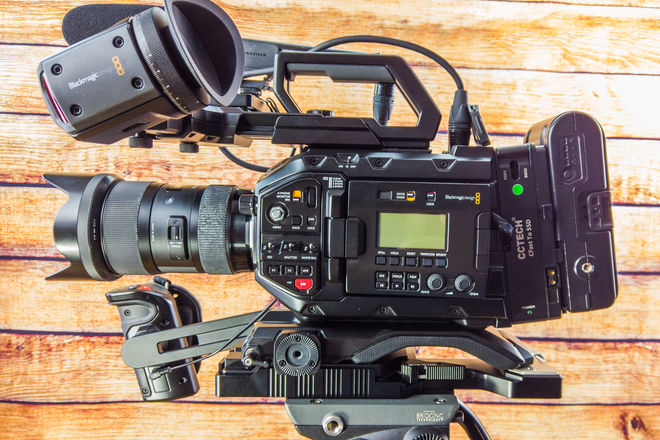 Blackmagic URSA Mini Pro - Kit Completely Ready for Shooting