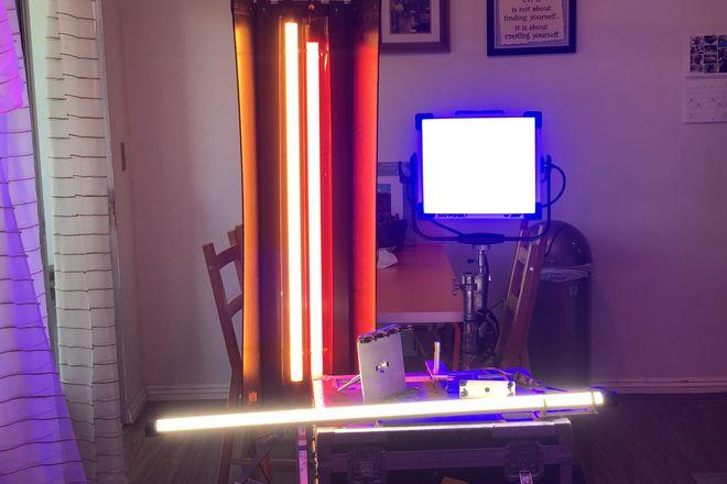 ARRI Sky panel s30c +1-4Ft Quasar RGB+2-4ft cf